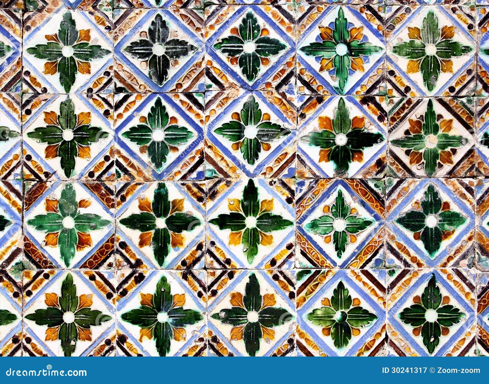 Piastrelle di ceramica di moresco fotografia stock libera - Produzione piastrelle ceramica ...
