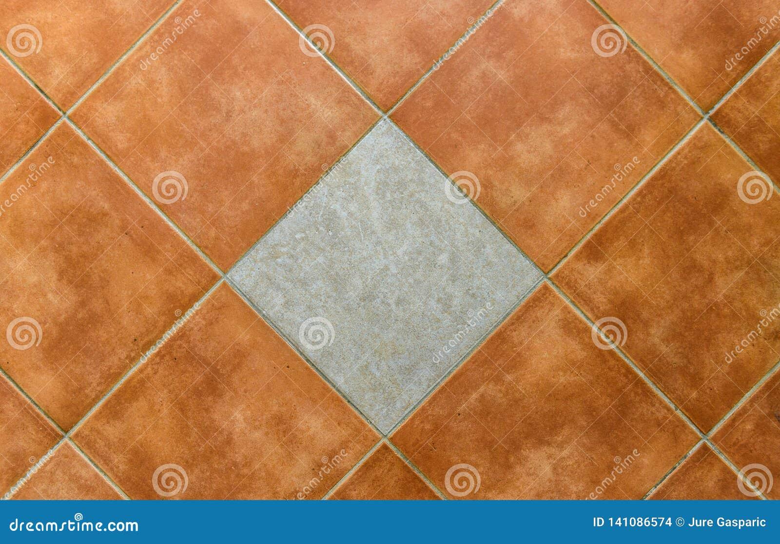 Piastrelle Di Ceramica Quadrate Interne O Esteriori Della ...