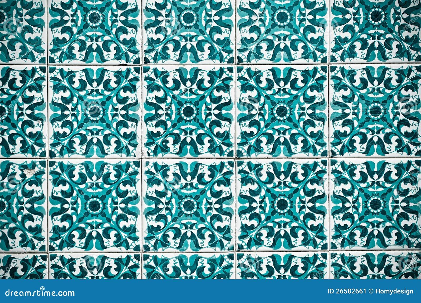 Piastrelle di ceramica spagnole di stile dell 39 annata for Camino esterno in stile spagnolo