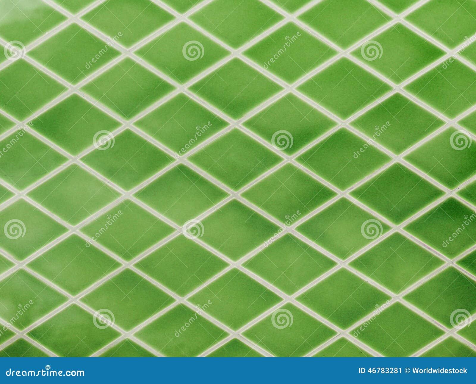 Piastrelle di ceramica verdi illustrazione di stock - Piastrelle verdi ...