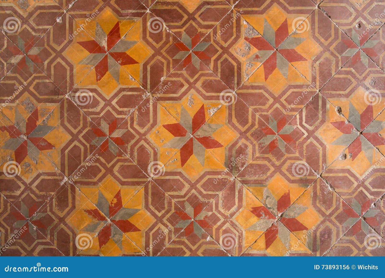 Piastrelle per pavimento antiche fotografia stock immagine di