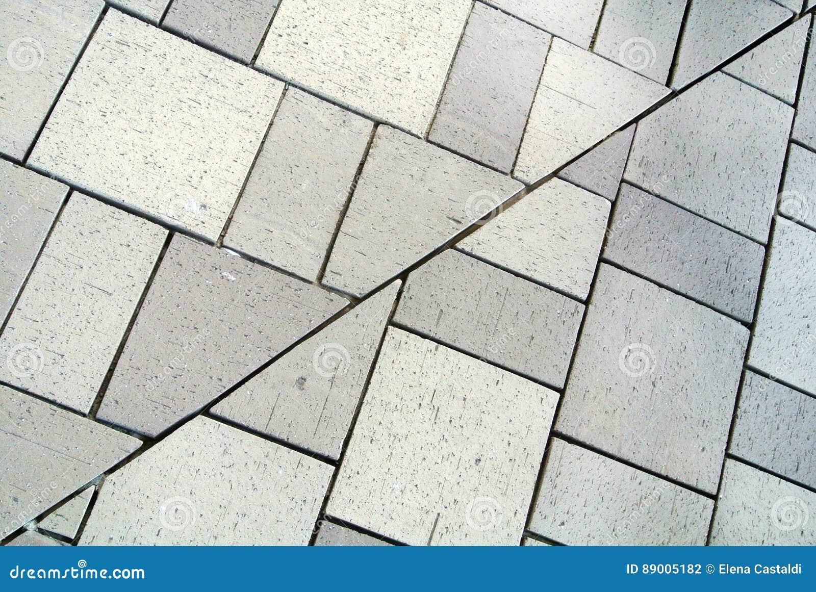 Piastrelle per pavimento con i giunti fotografia stock