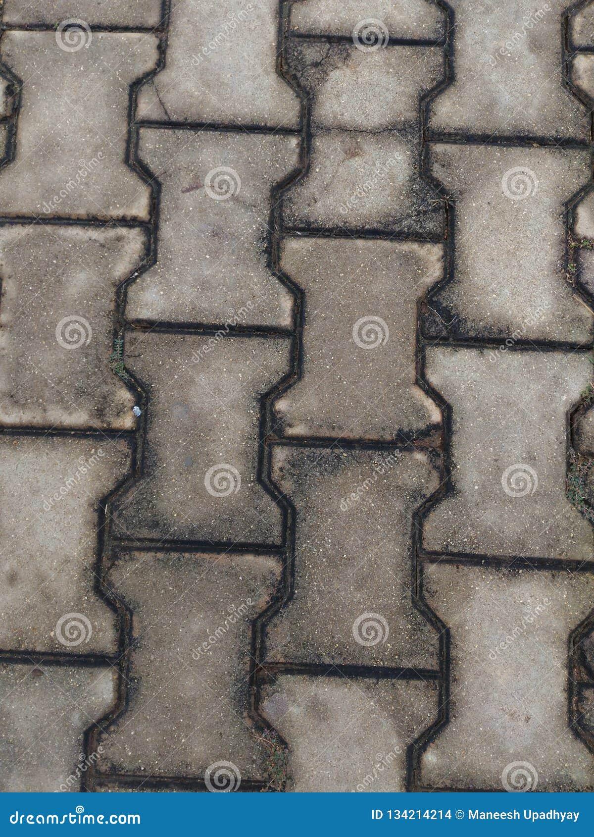 Piastrelle Per Pavimento Concrete Di Colore Grigio Scuro ...