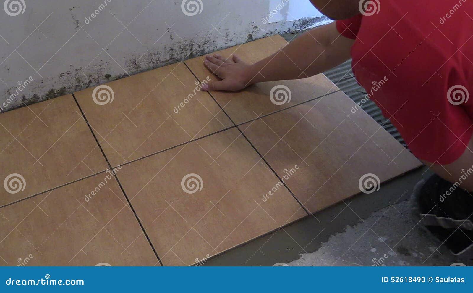 Piastrelle per pavimento di disposizione del tuttofare a casa colpo