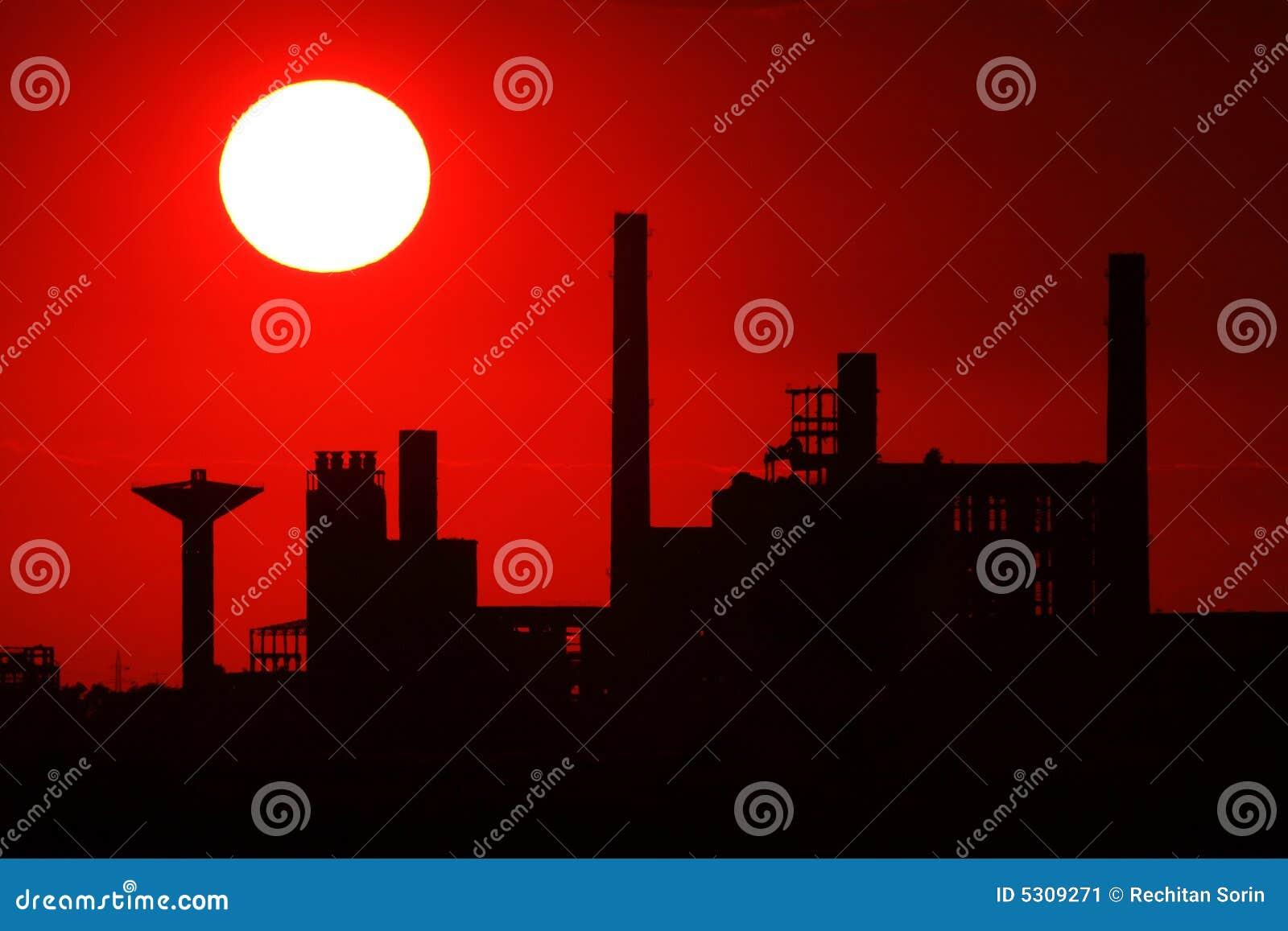 Download Piattaforma industriale immagine stock. Immagine di lavoro - 5309271