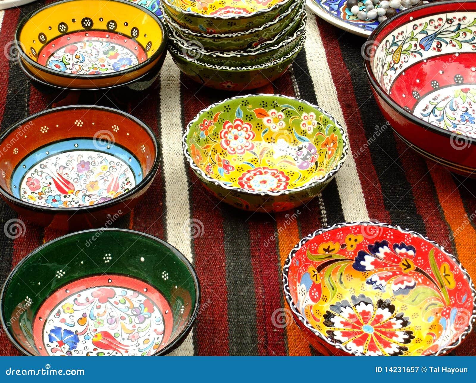 Piatti decorativi fotografia stock libera da diritti immagine 14231657 - Piatti decorativi ...