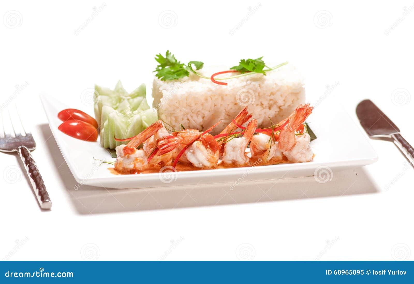 Disegno cucina internazionale : Piatti Di Cucina Internazionale In Ristorante Immagine Stock ...
