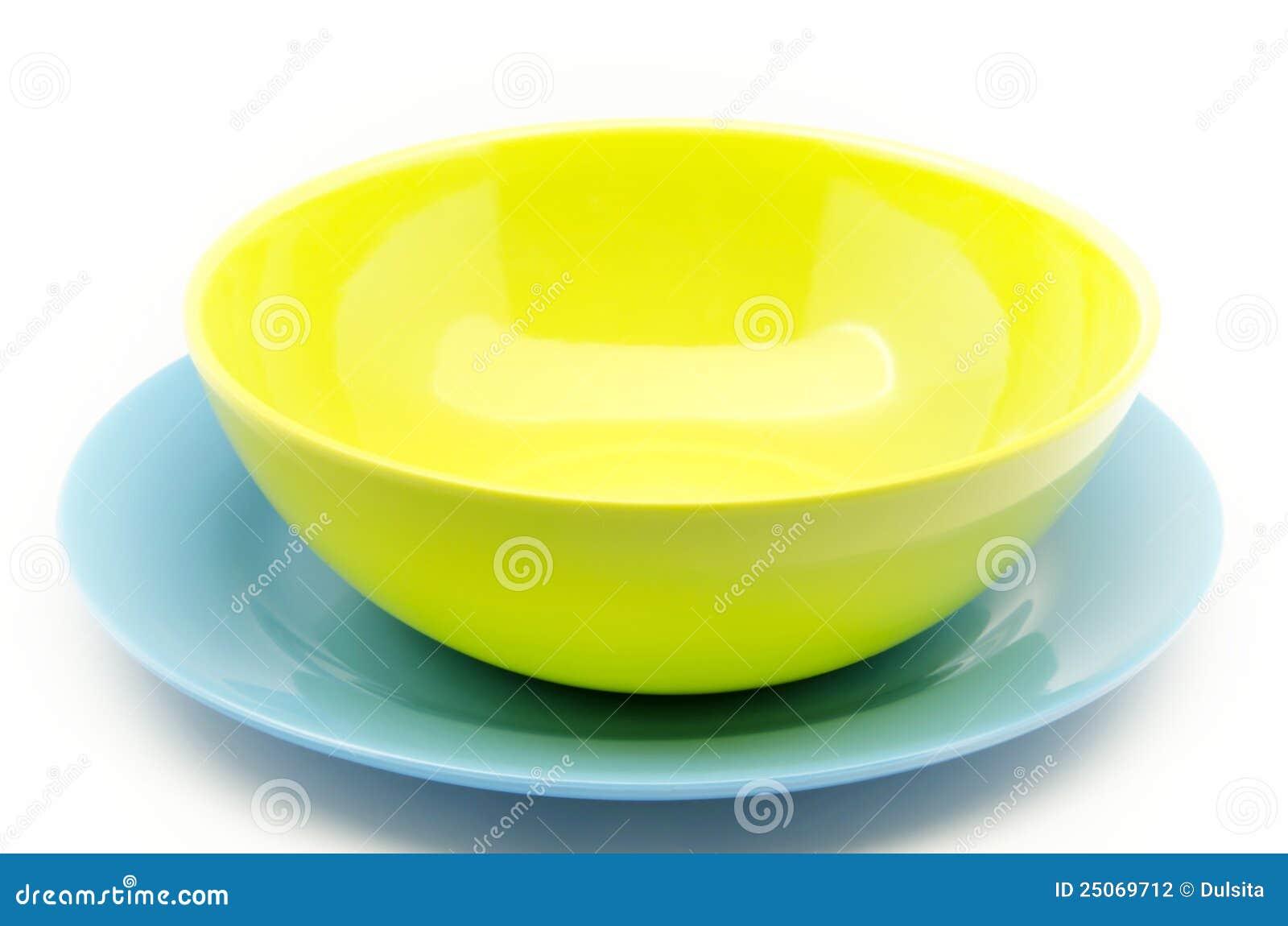 Piatti di plastica colorati fotografia stock immagine - Piatti plastica ikea ...