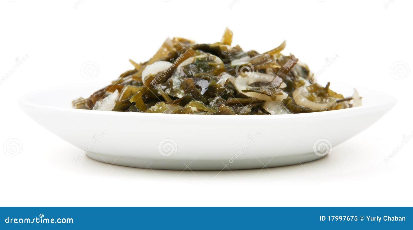 Piatto dal kelp