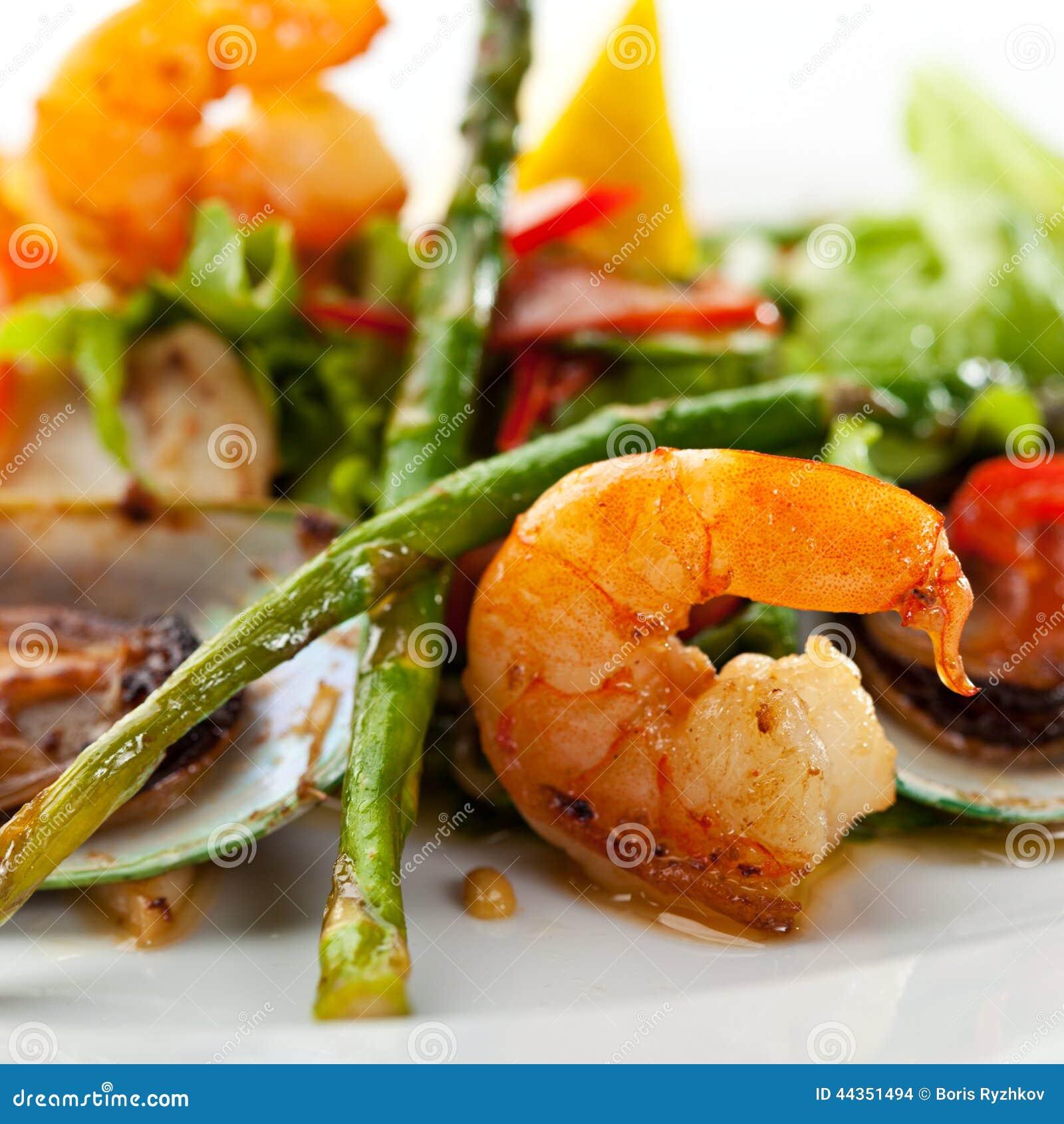 Piatto dei frutti di mare