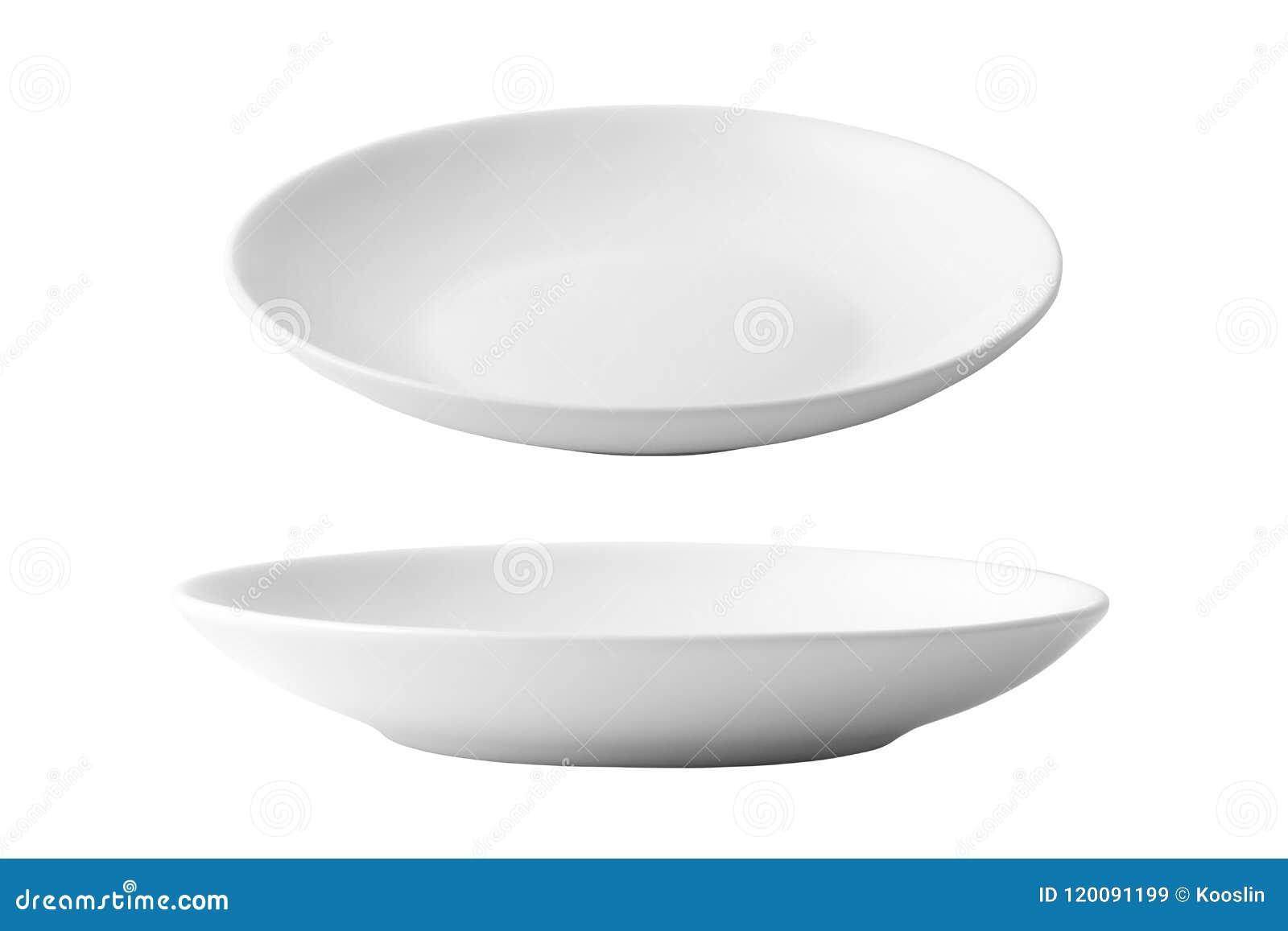 Piatto Ceramica Bianco.Piatto Di Ceramica Bianco Vuoto Immagine Stock Immagine Di