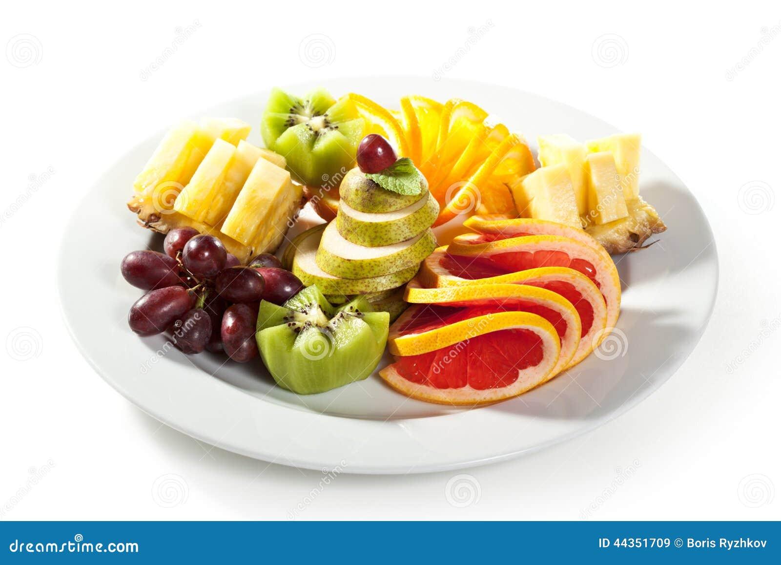 Piatto di frutti