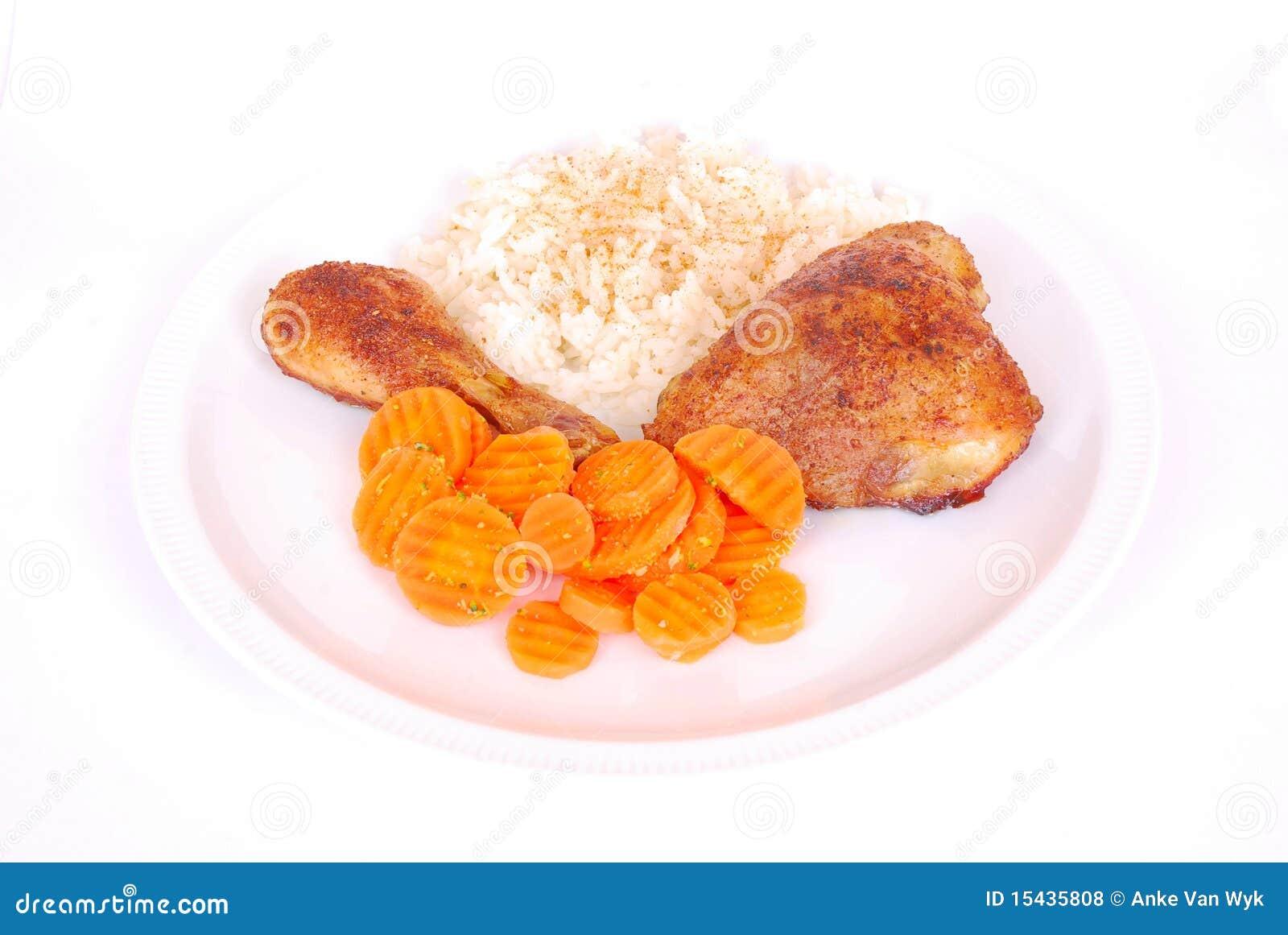 Piatto di pollo portoghese