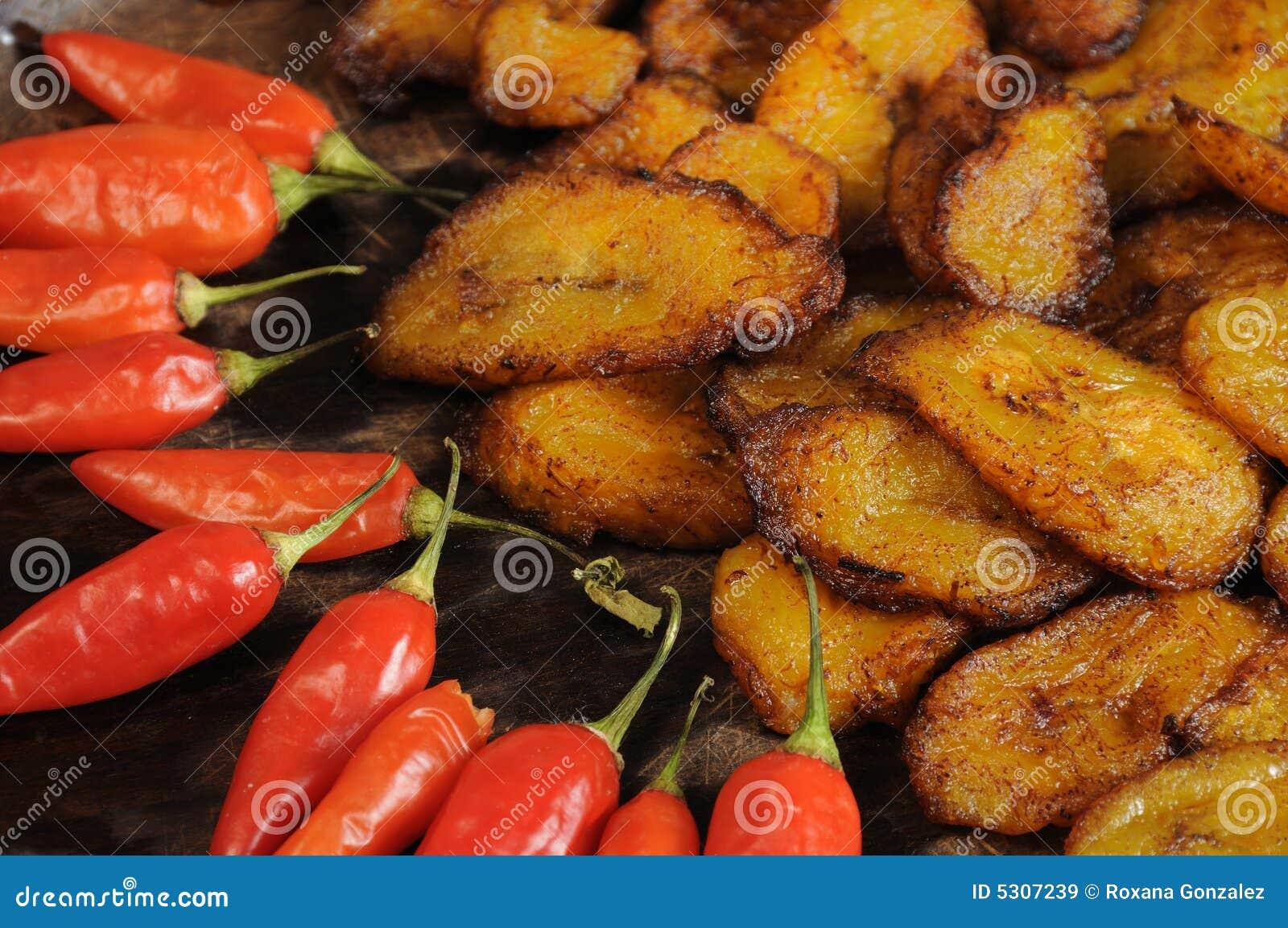 Download Piatto tropicale immagine stock. Immagine di spezia, piatto - 5307239