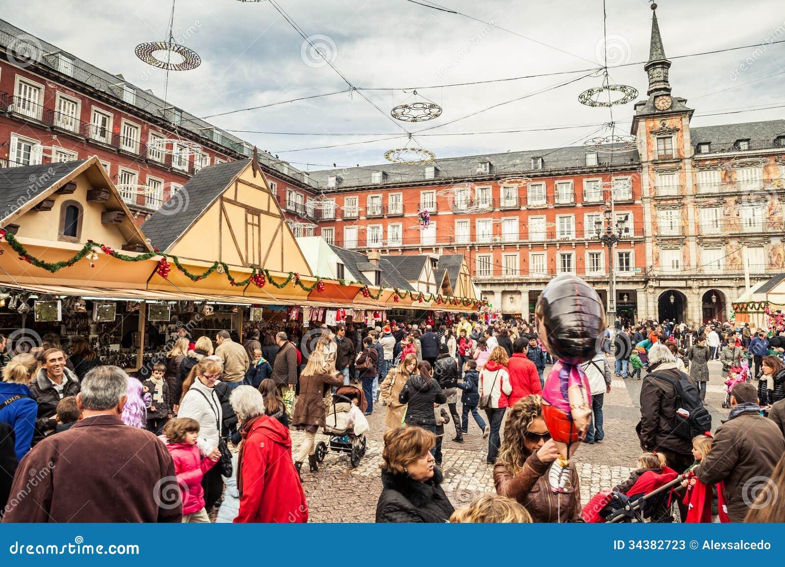 Piazza-Bürgermeister Auf Weihnachten Redaktionelles Stockfoto - Bild ...