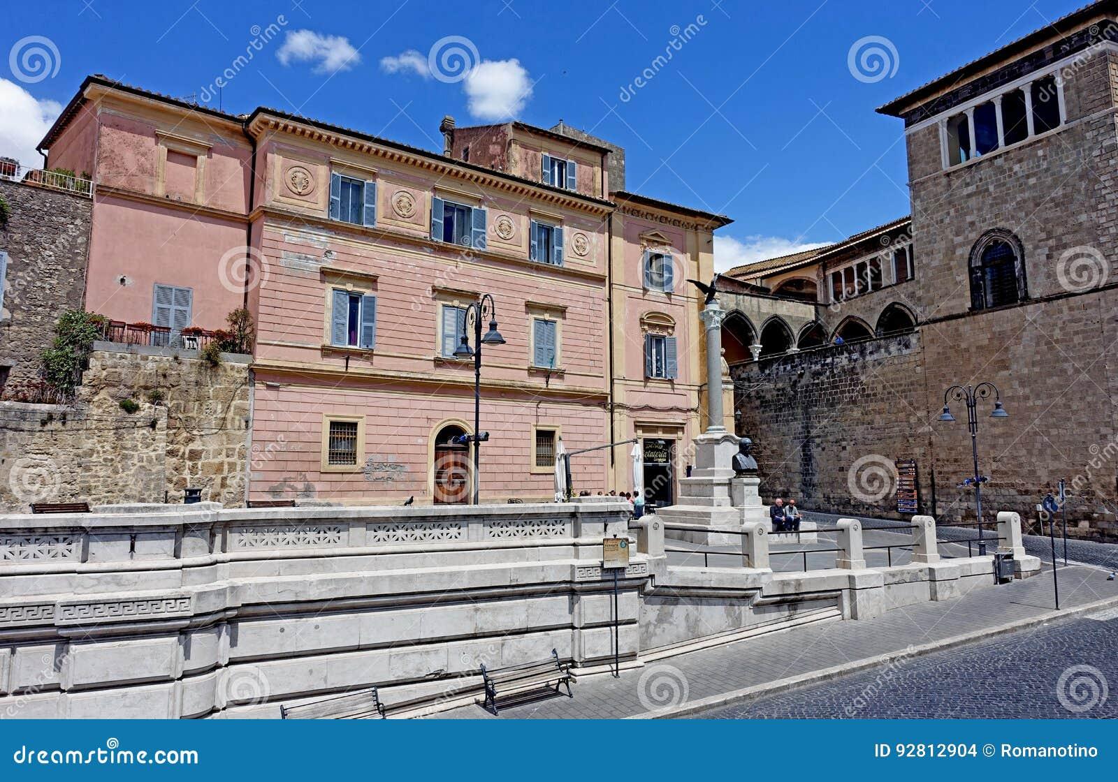 Piazza Cavour di Tarquinia