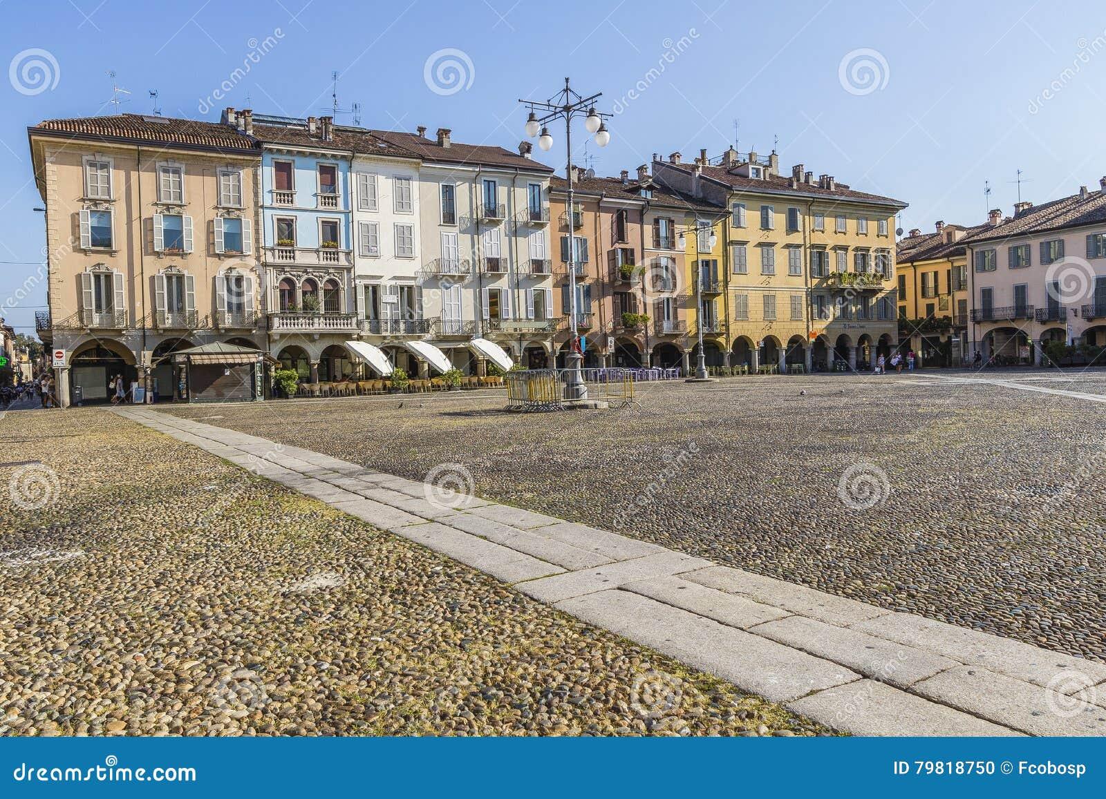Piazza della Vittoria, Lodi, Italy