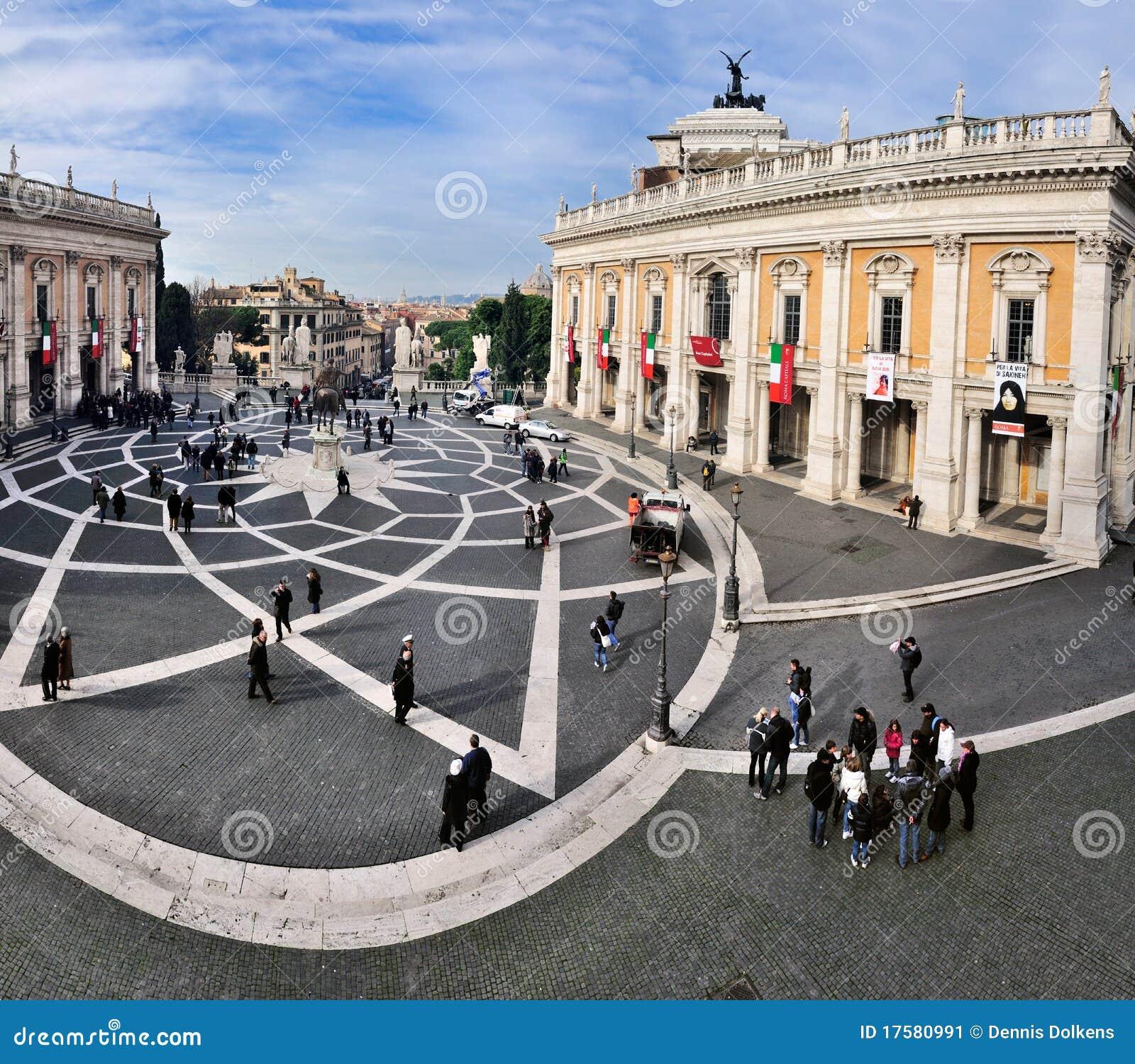 Piazza di Campidoglio, Rome