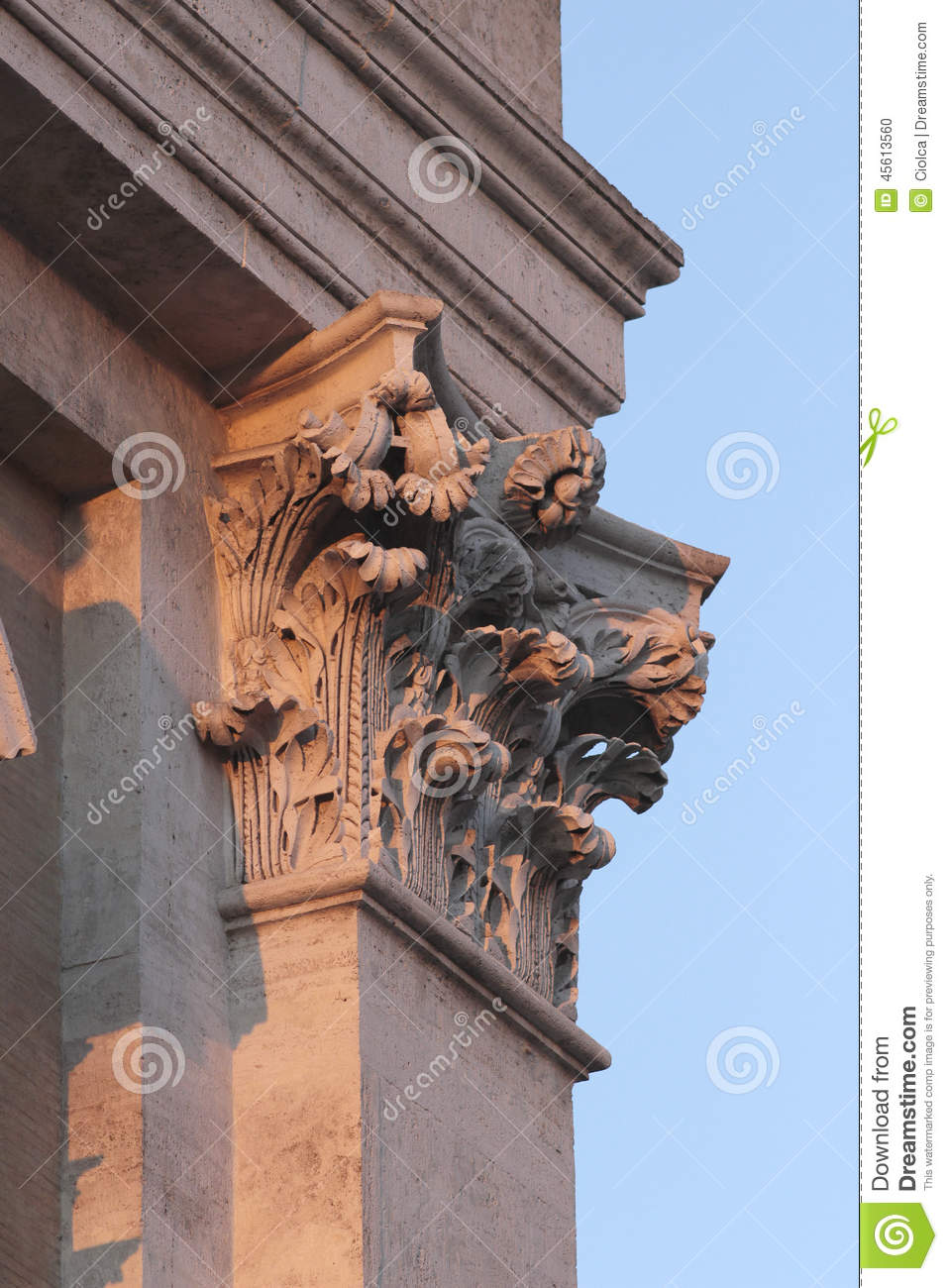 Piazza Di Campidoglio, Rome Stock Photo CartoonDealer ...