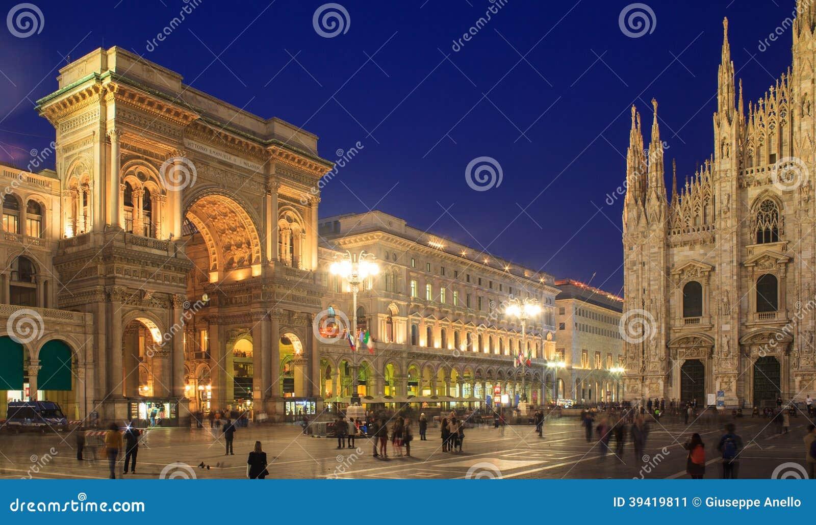 Piazza Duomo, Milán