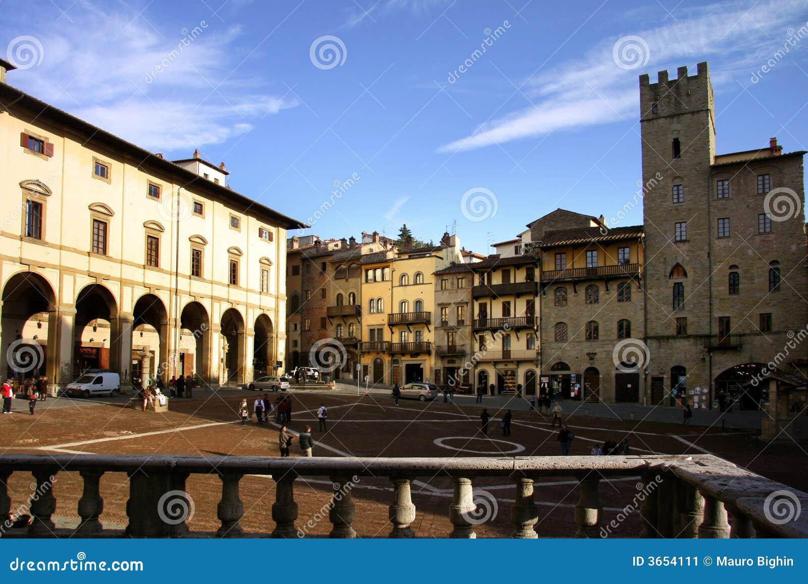 Piazza grande, Arezzo - Italia