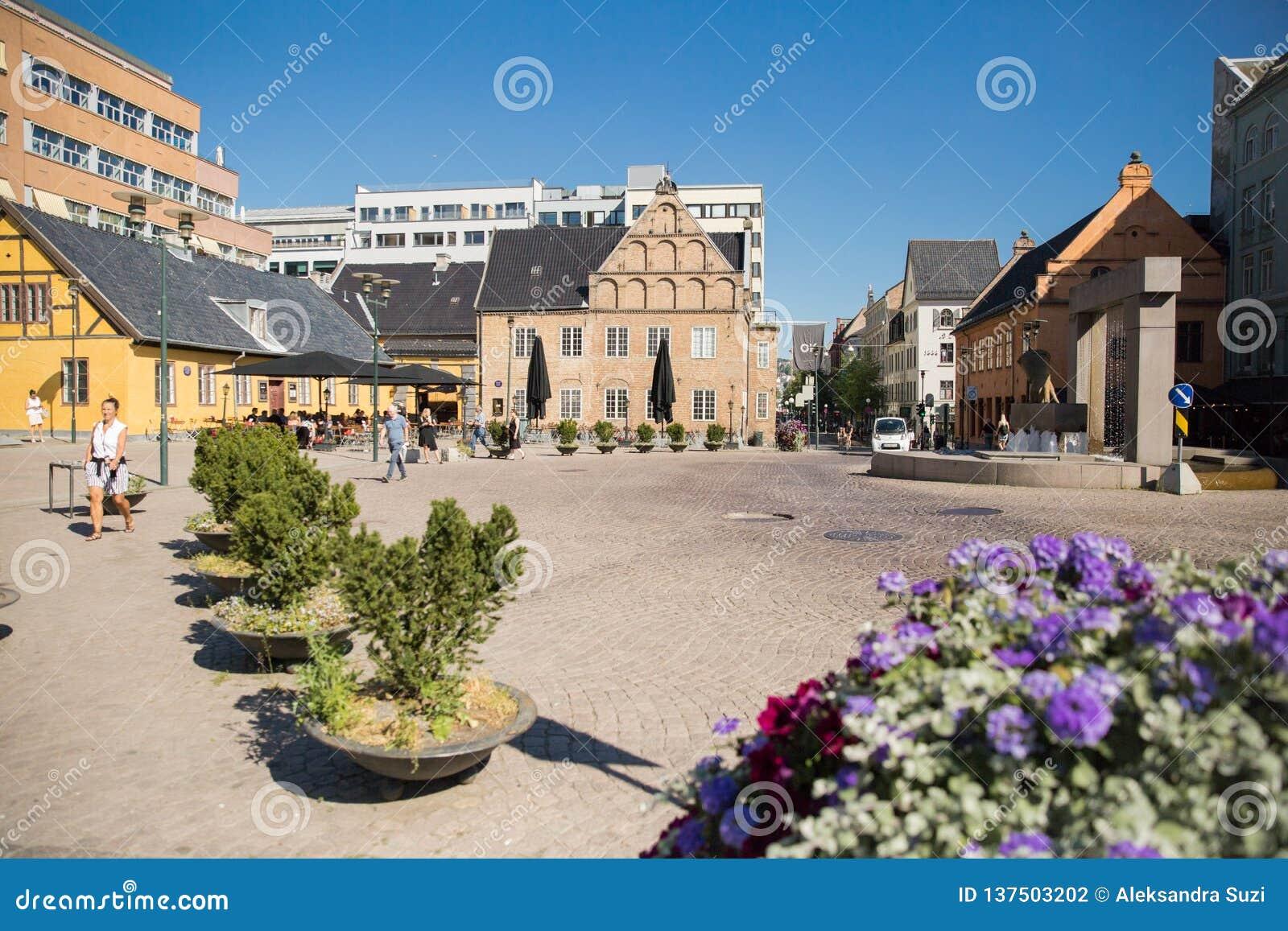 Piazza pubblica di Christiania Torv