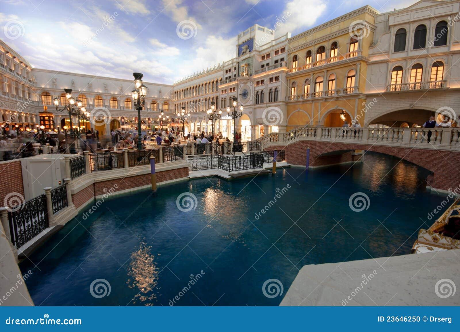 The Piazza San Marco Replica In Venetian Hotel Editorial Image - Map of las vegas venetian