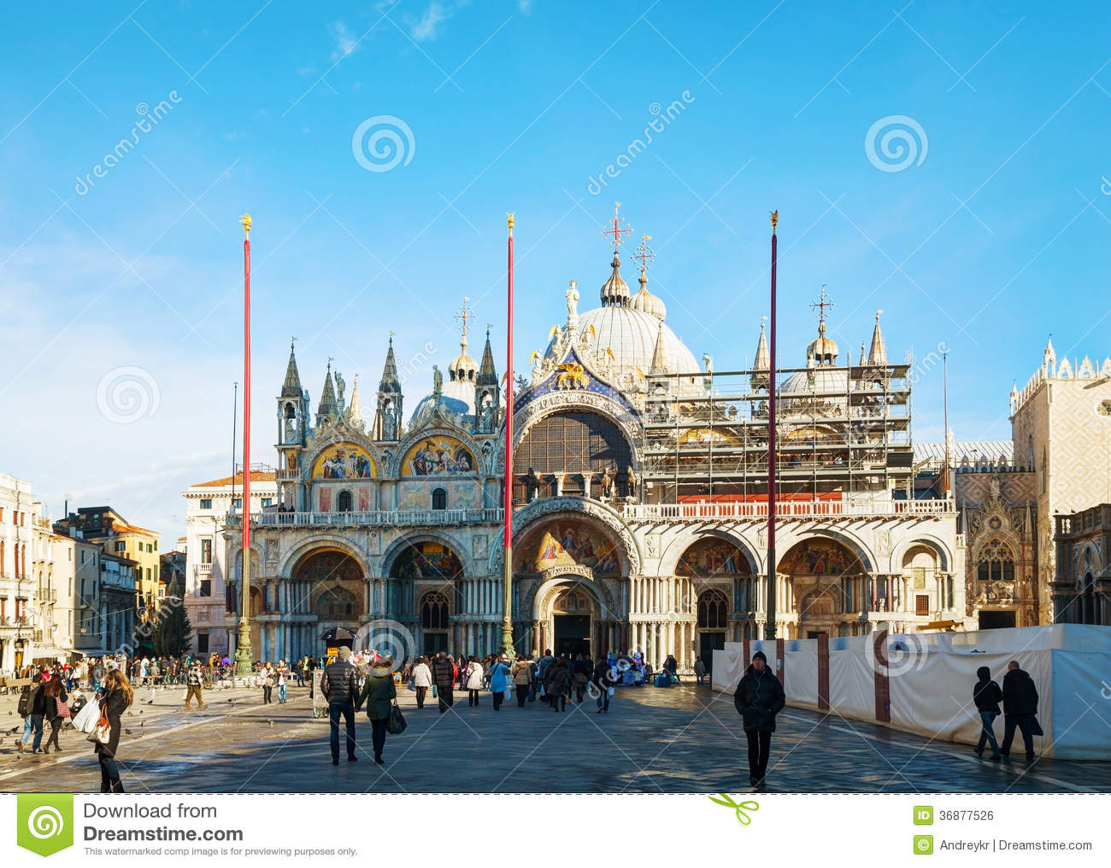 Download Piazza San Marco Sopra A Venezia Fotografia Editoriale - Immagine di corsa, palazzo: 36877526