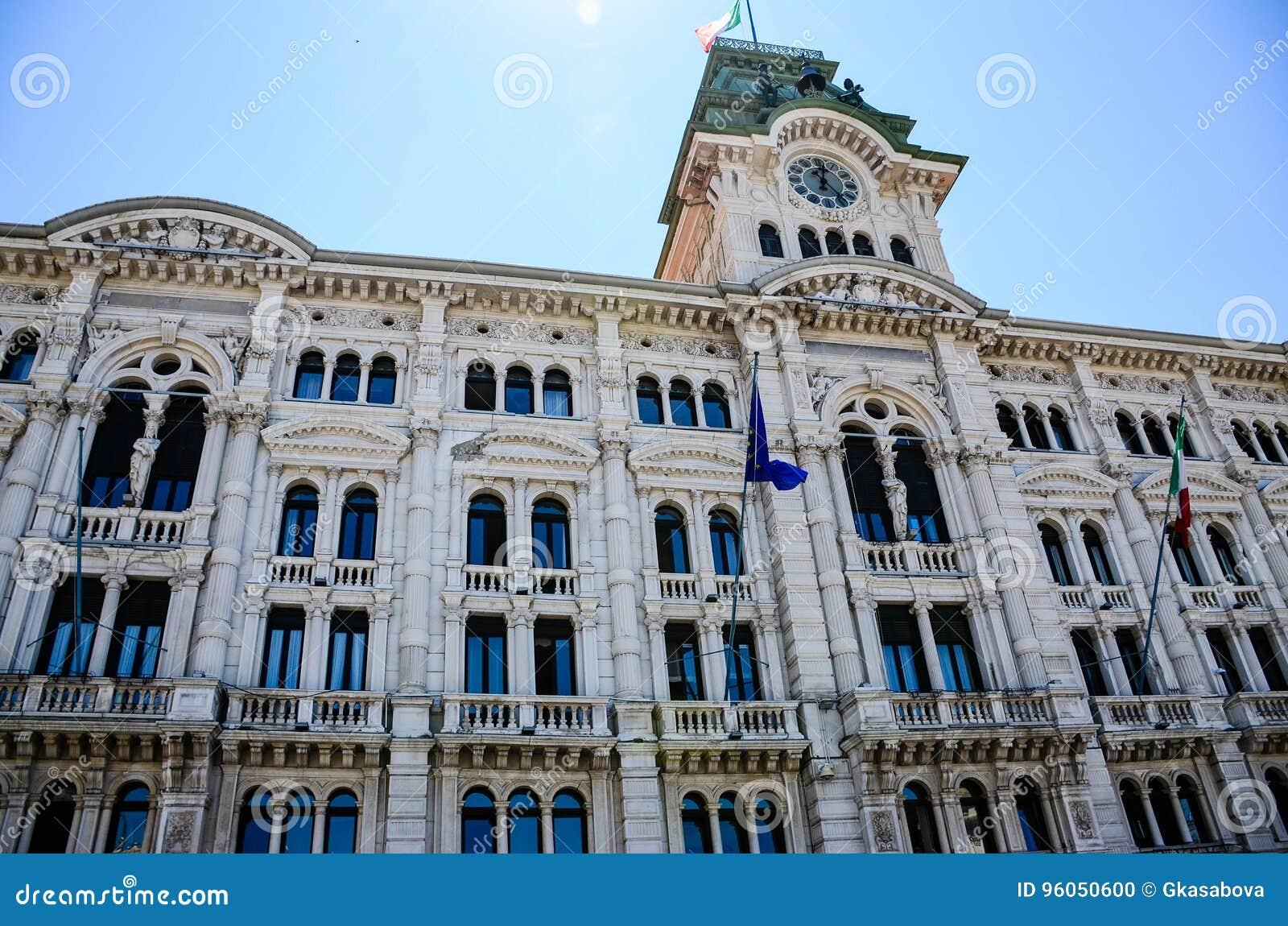 Piazza Unitàd Italie à Trieste
