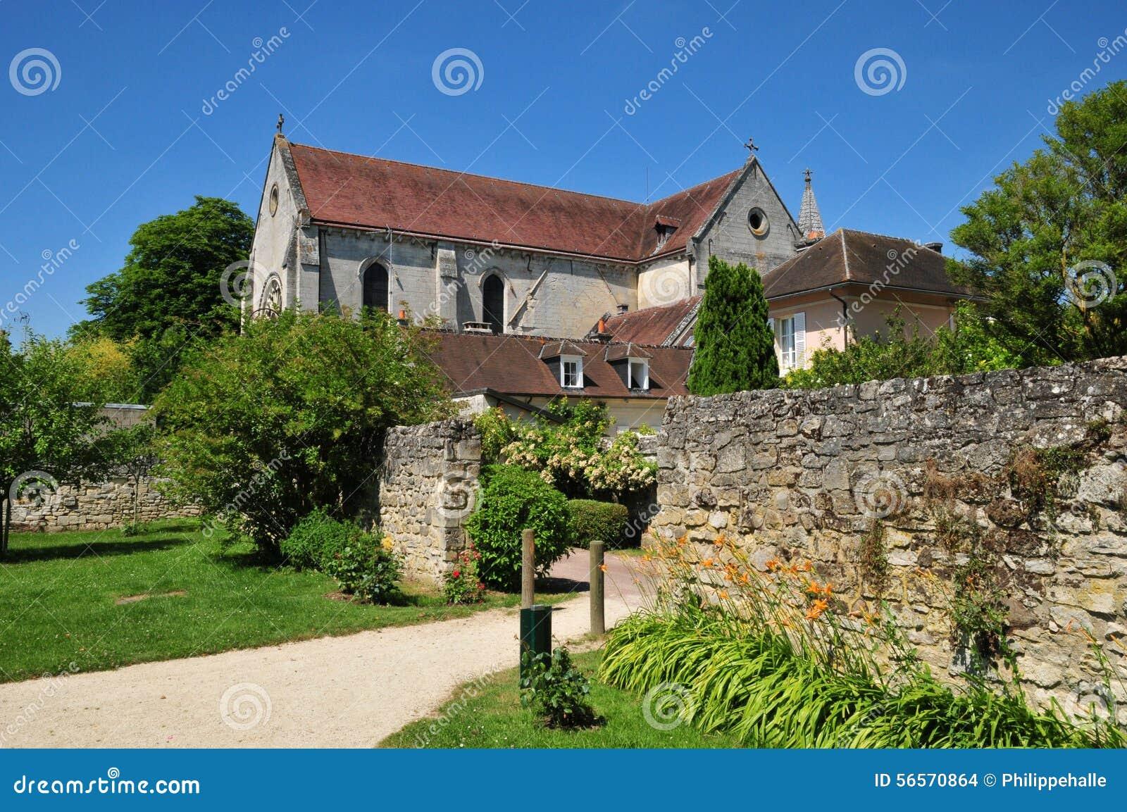 Download Picardie, το γραφικό χωριό Αγίου Jean Aux Bois σε Ois Στοκ Εικόνες - εικόνα από παλαιός, αρχιτεκτονικής: 56570864