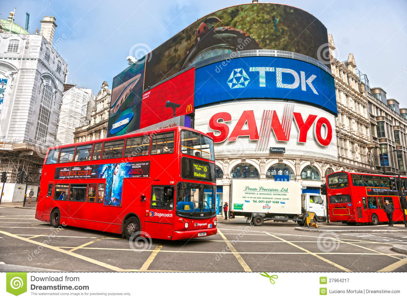 Piccadilly Circus, London. UK. Editorial Photography - Image: 27964217