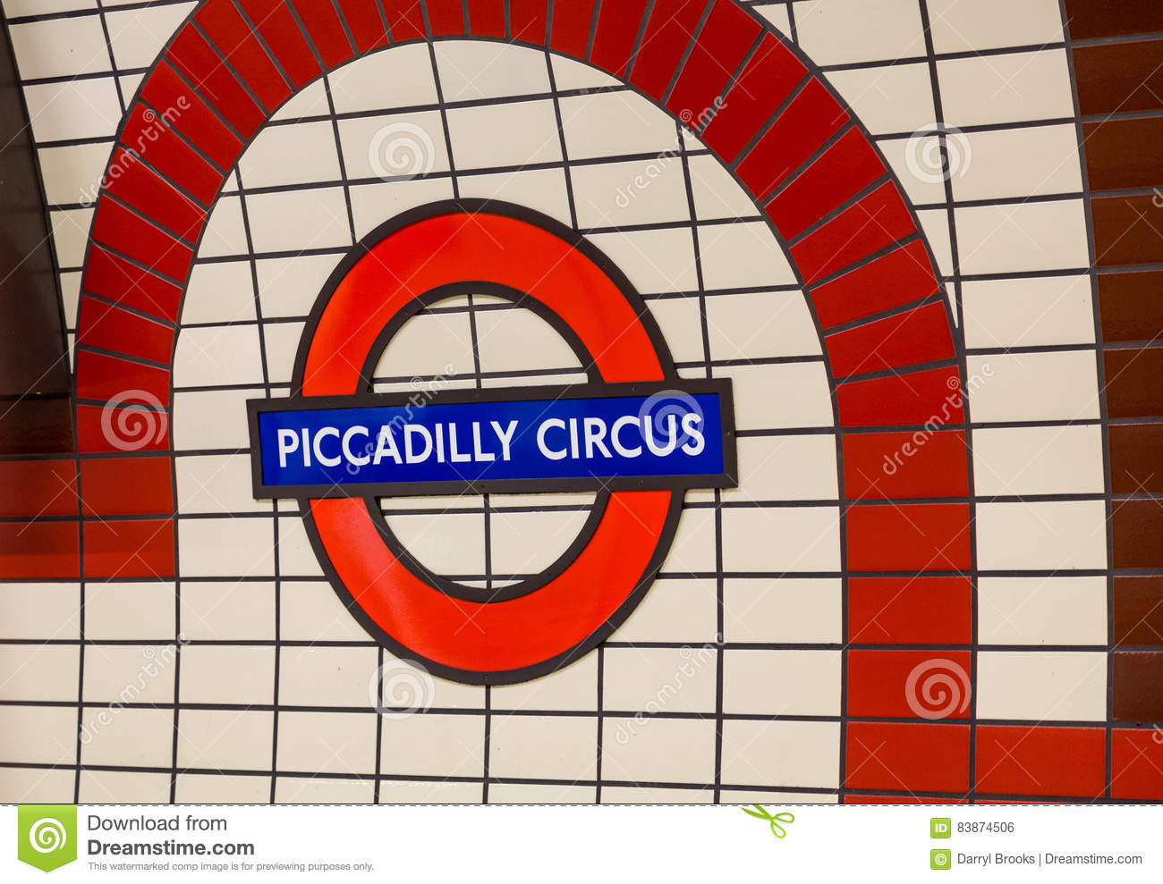 Piccadilly Circus Sign Editorial Photo Image Of Travel 83874506