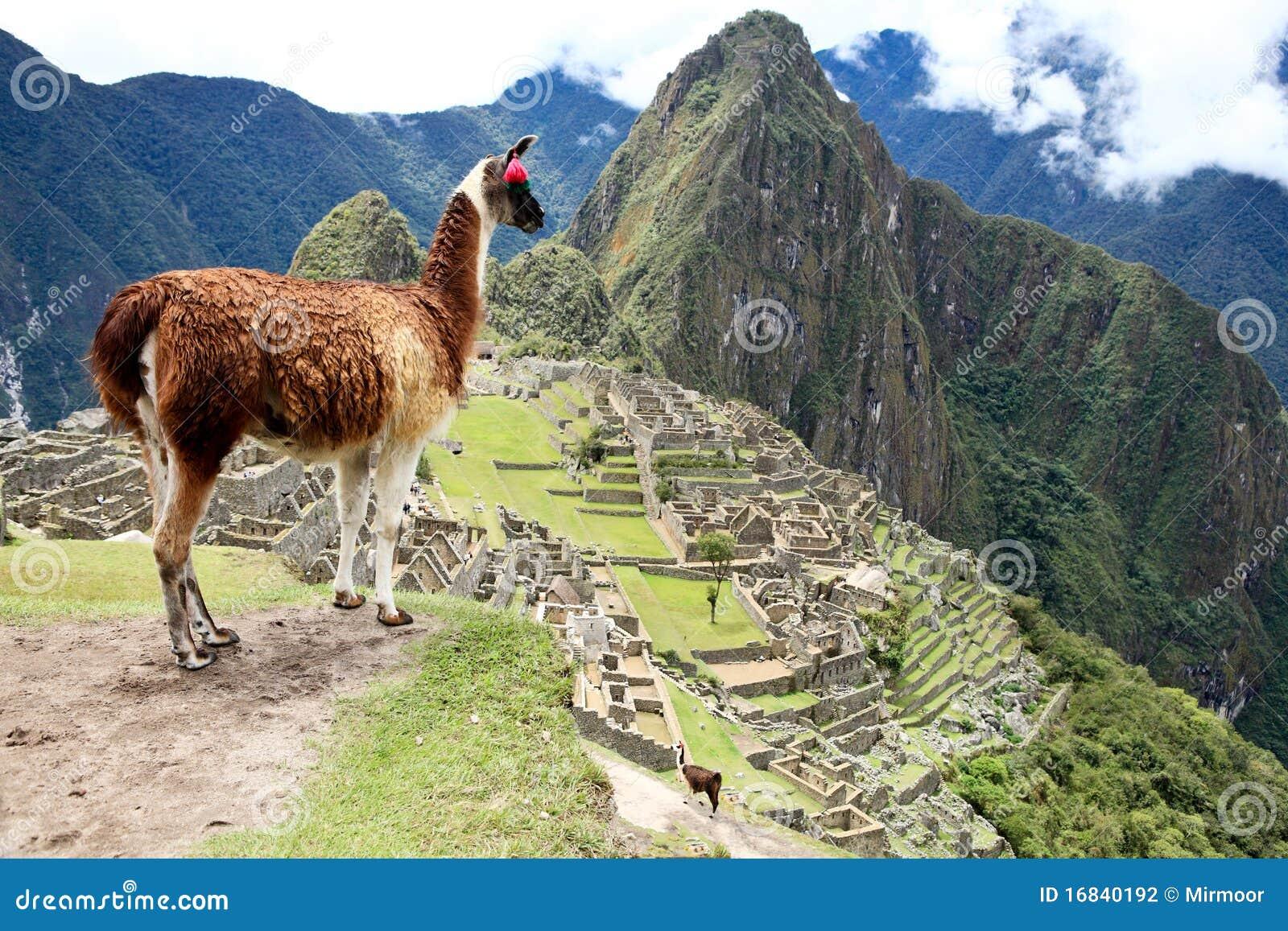 Picchu του Περού machu