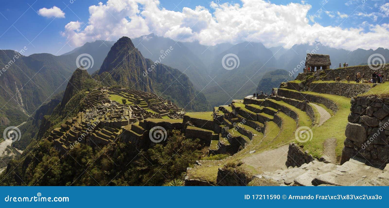 Picchu панорамы machu
