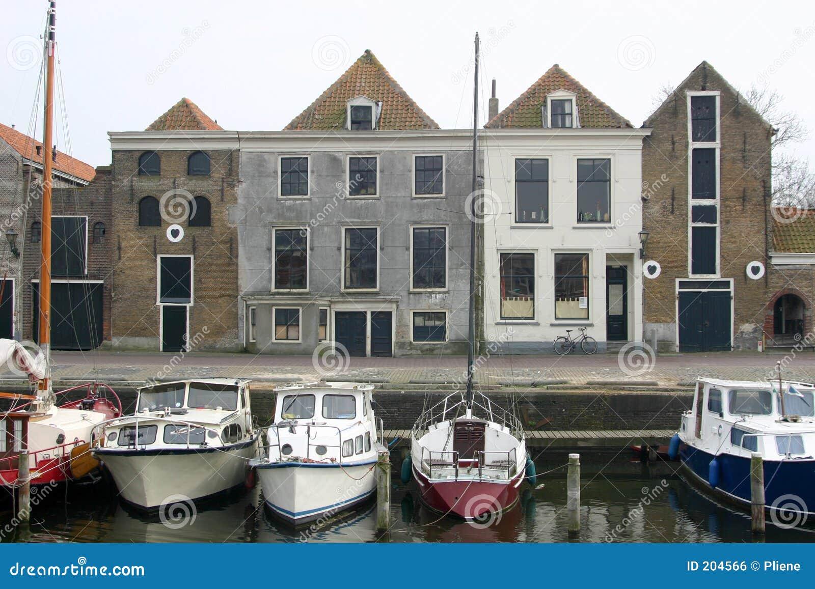 Piccola città olandese chiamata Brielle