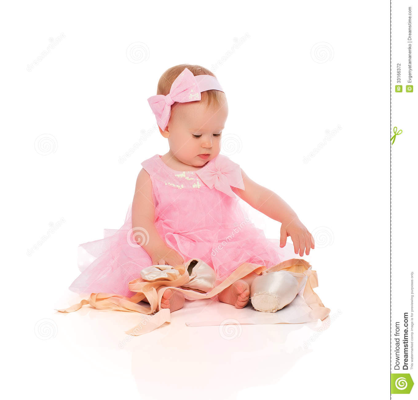 Toddler White Ballerina Shoes