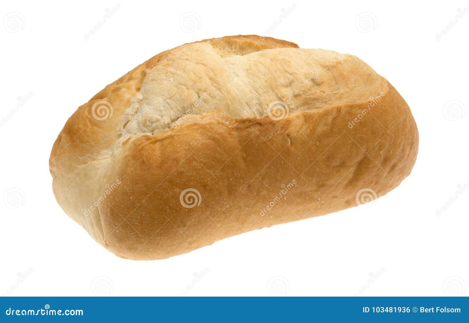 Piccola pagnotta del pane bianco
