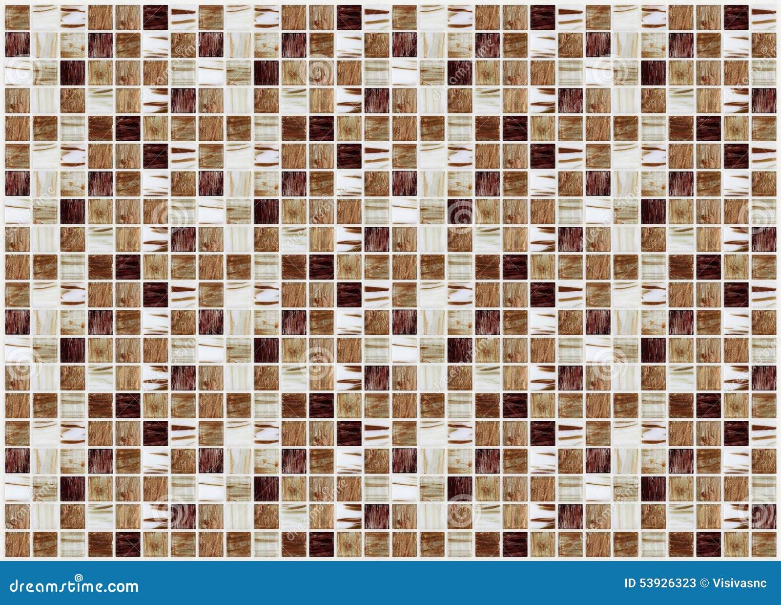 Piccole mattonelle decorative colorate mosaico immagine stock