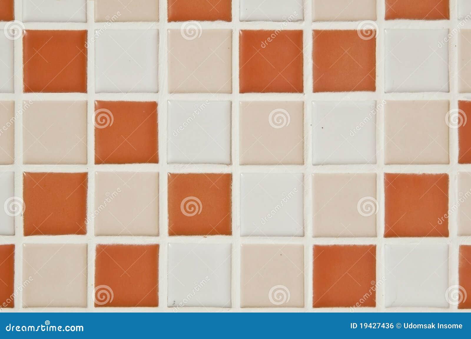 Piccole mattonelle quadrate del bagno fotografia stock for Piccole planimetrie del bagno mansardato