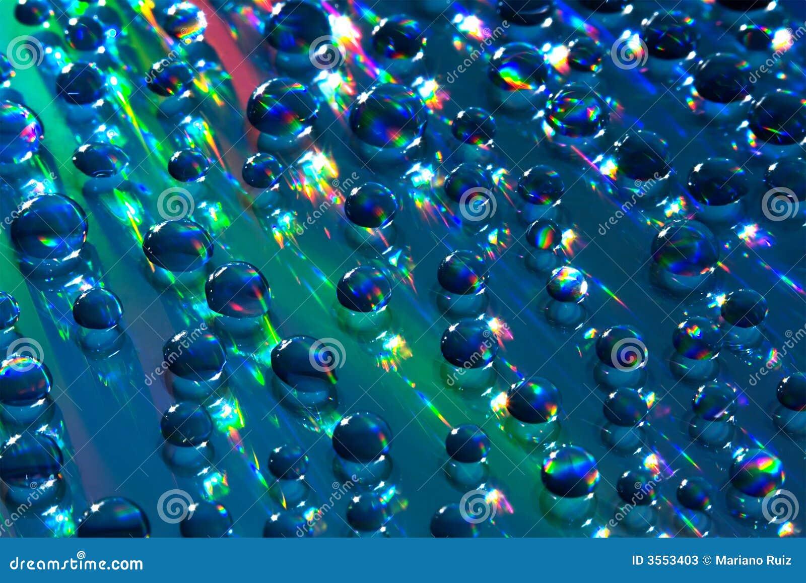 Piccole sfere dell acqua