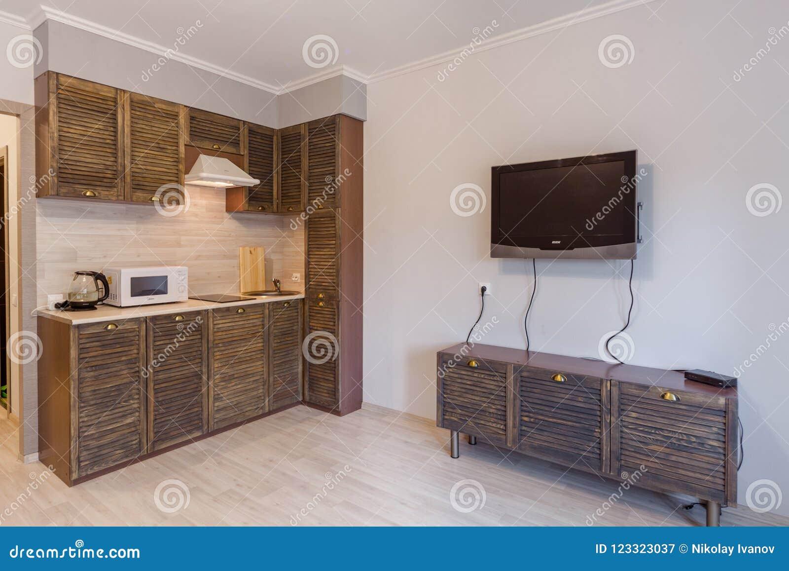 Piccoli Appartamento Di Studio Ed Interno Di Alta Tecnologia ...