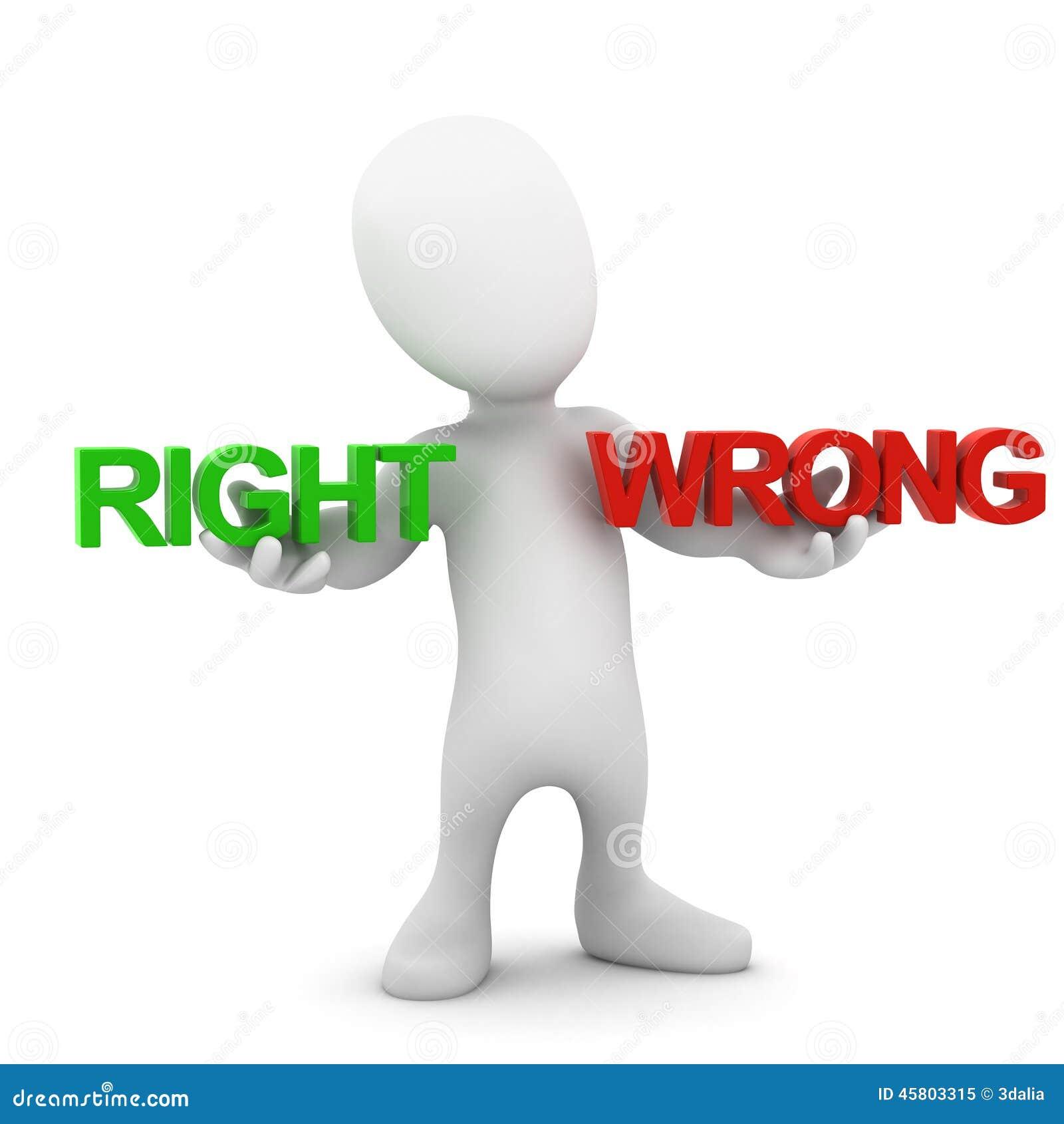 Piccoli equilibri destra e torto dell uomo 3d