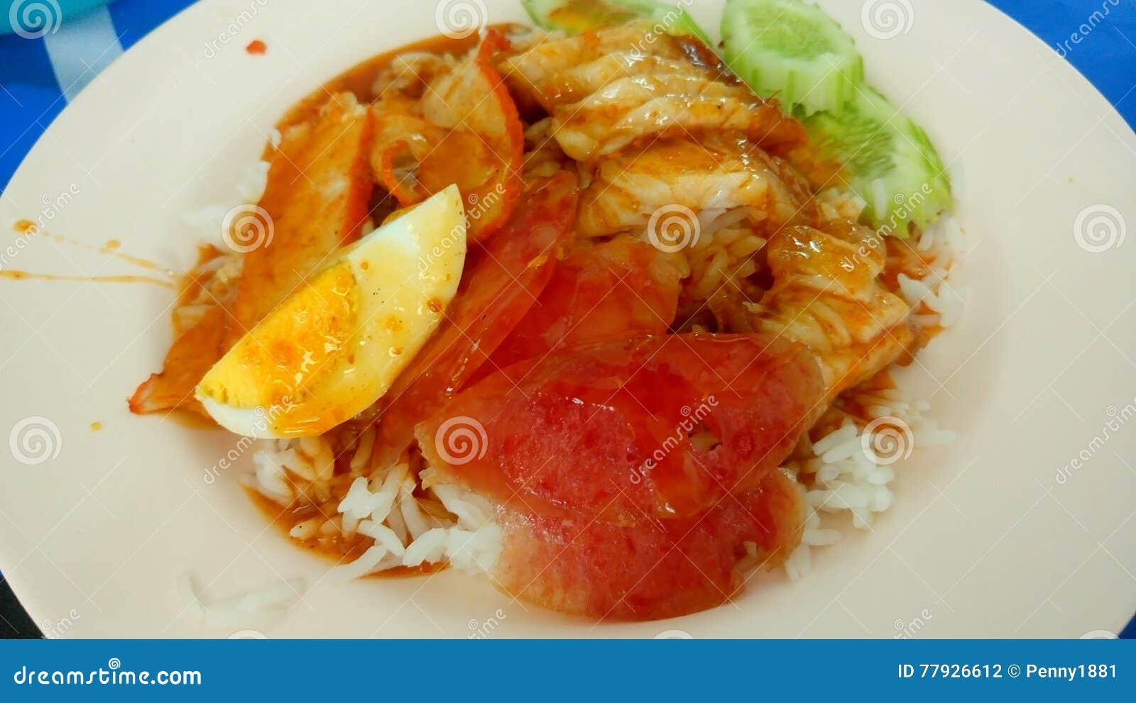 Piccoli piatti tailandesi cinesi dolci della carne di maiale per l