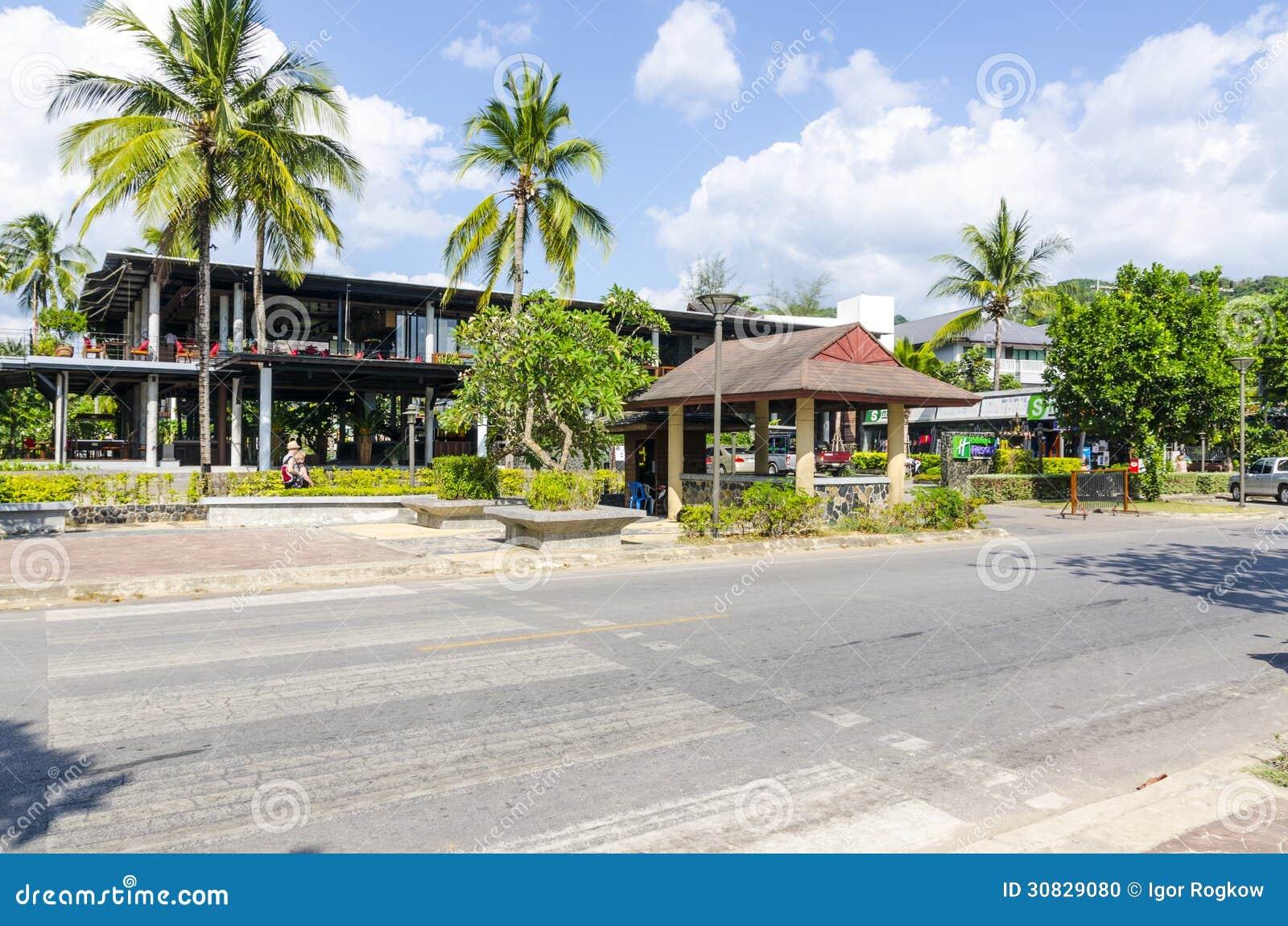 Piccolo hotel nello stile tailandese.