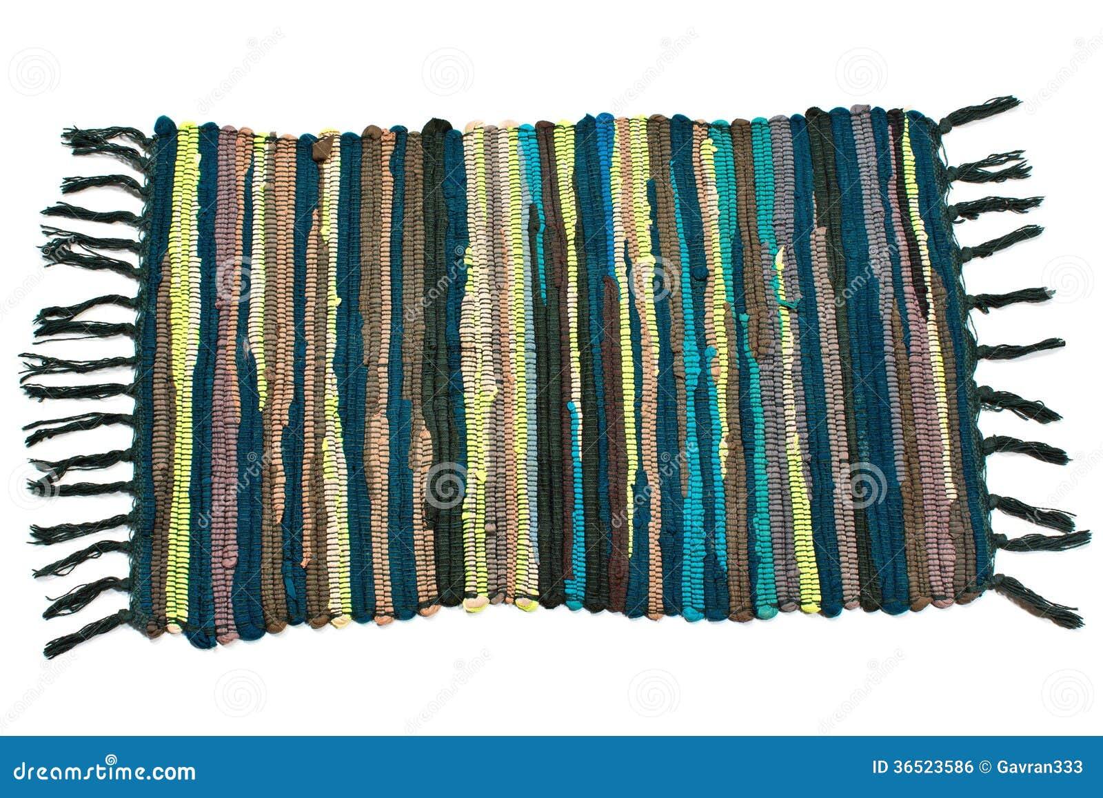 Piccolo tappeto variopinto