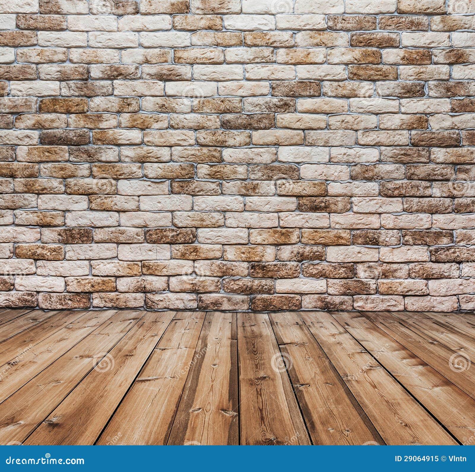 pi ce avec le mur de briques photo libre de droits image 29064915. Black Bedroom Furniture Sets. Home Design Ideas