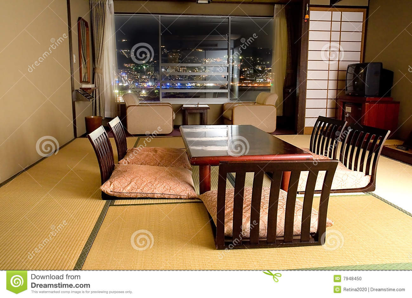 Chambre Japonaise Tatami