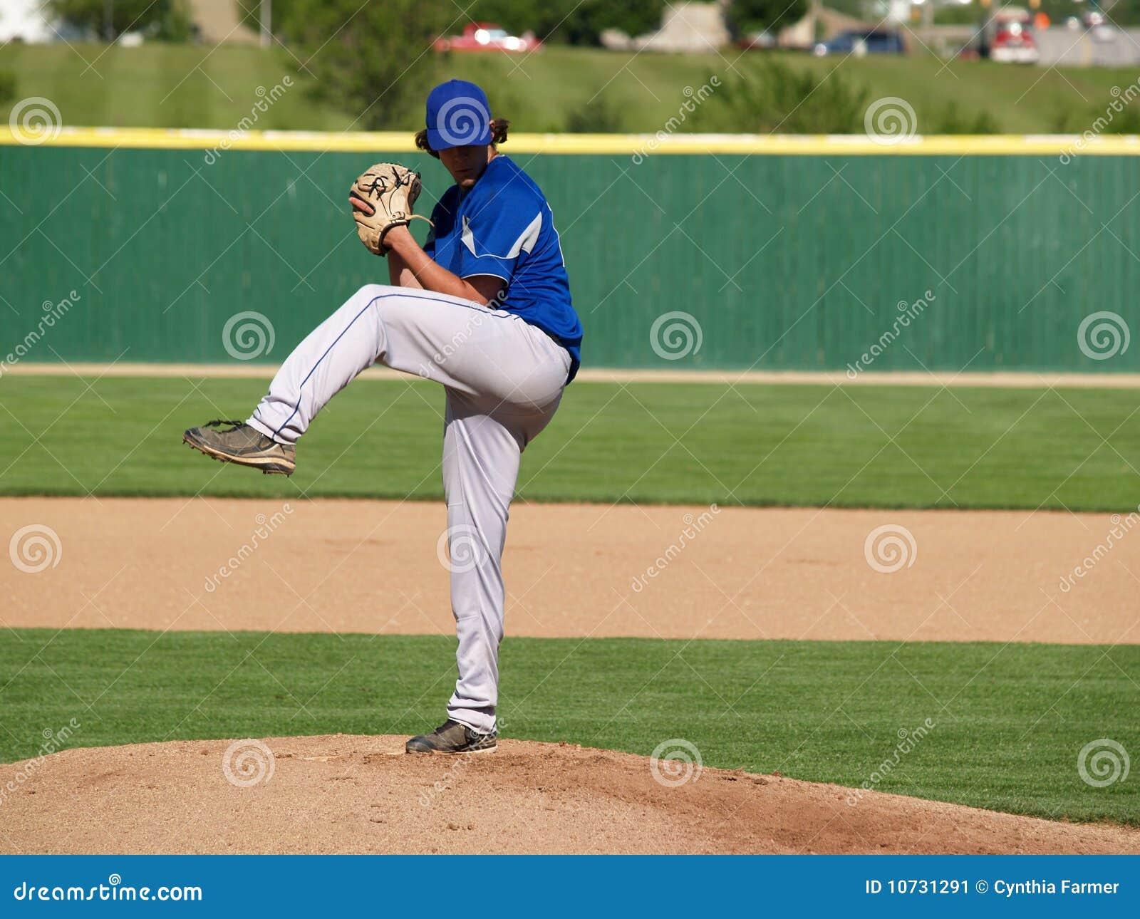 Pichet de base-ball de lycée