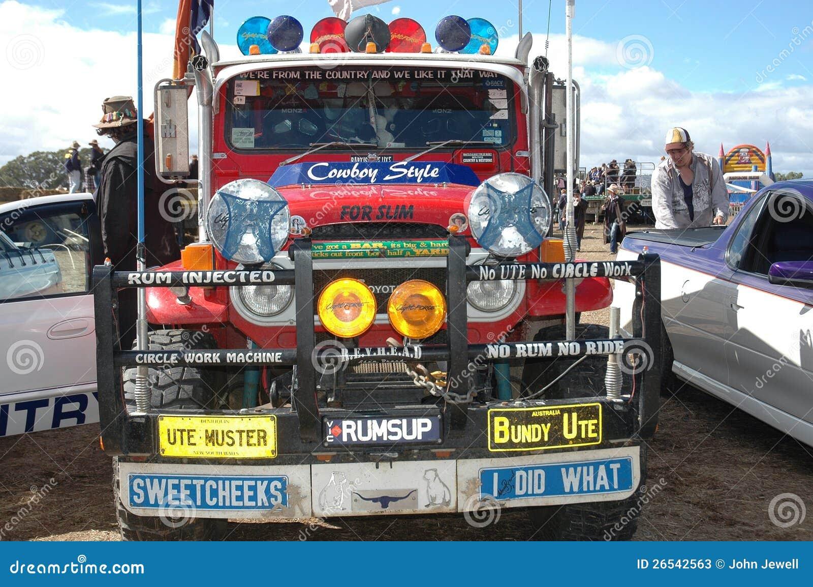 Pick up Truck.