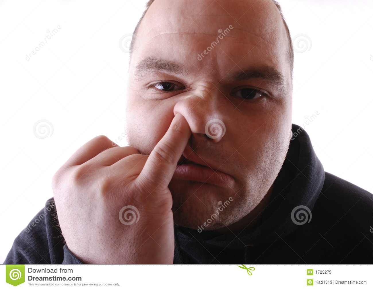 Picking Nose Royalty Free Stock Photo - Image: 1723275